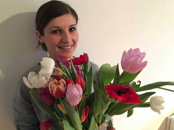 Przytuli Pani tulipany?