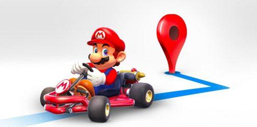 Mario w Google Maps przez tydzień!