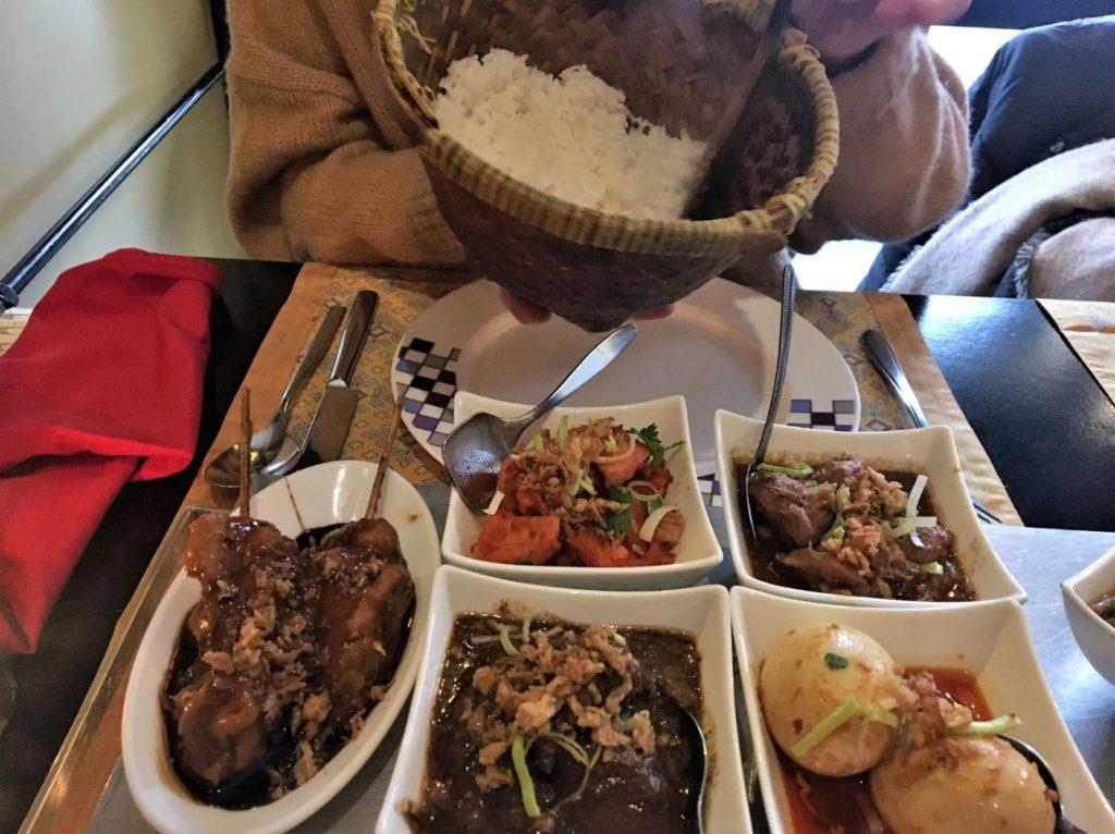 rijsttafel