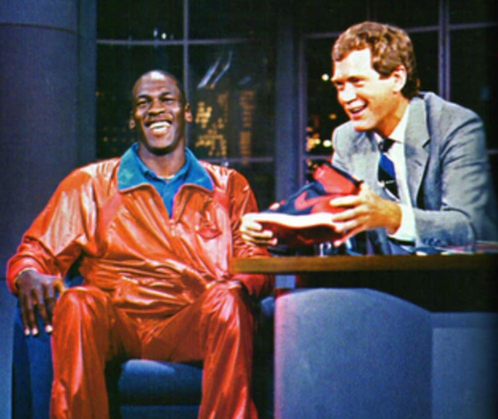 Air Jordan David Letterman